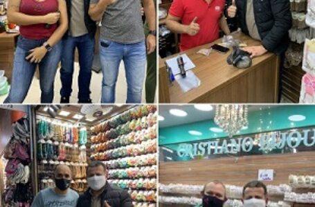 Paulinho de Zié recebe apoio de comerciantes itaporanguenses  em SP que desejam mudança em de Itaporanga