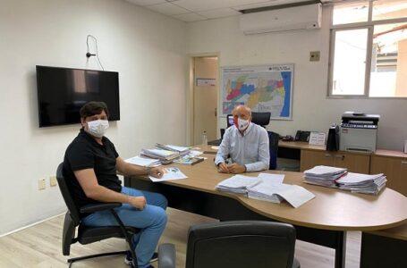Deputado Taciano Diniz reivindica melhorias na saúde para o vale do piancó