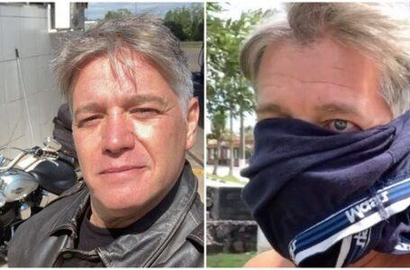 Ator que colocou cueca no rosto para protestar contra máscaras, é internado com Covid-19