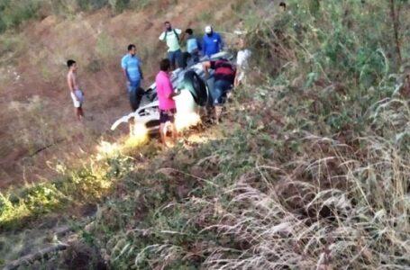 Acidente na PB 276 deixa três feridos na noite desta segunda-feira (12)