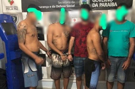 VALE DO PIANCÓ : Polícia Civil deflagra Operação  prende 6 pessoas e apreende armas e drogas.