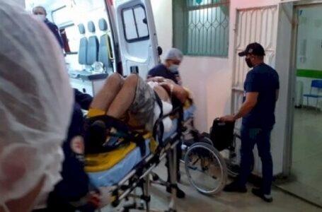 Capotamento deixa quatro pessoas feridas em rodovia do Vale do Piancó na noite deste sábado