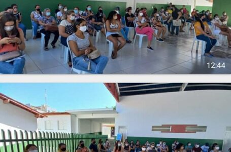 Prefeitura de São José de Piranhas, através das secretarias de Educação e saúde, estabelecem parceria com instituição de ensino superior