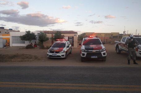 Polícia Militar realiza Blitz nas entradas de Itaporanga; a intenção é de coibir crimes na região