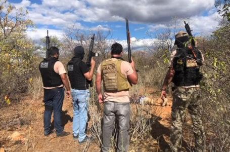 Líder de organização criminosa morre em ação de forças de segurança no sertão paraibano