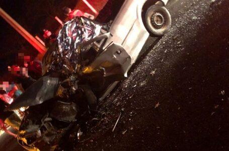 Colisão envolvendo dois veículos deixa uma vitima fatal e um ferido em Conceição
