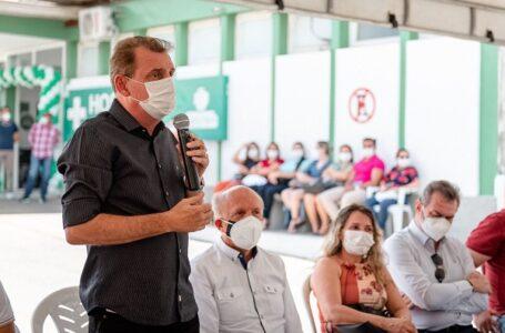 Secretário Dr Geraldo Medeiros visita São José de Piranhas e confere estrutura  da casa de saúde local.